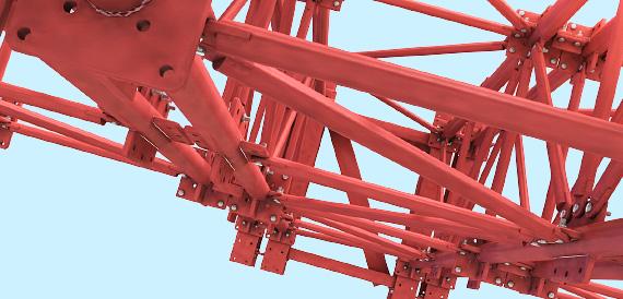 3д модели инвентарных подмостей ручной сборки для сайта