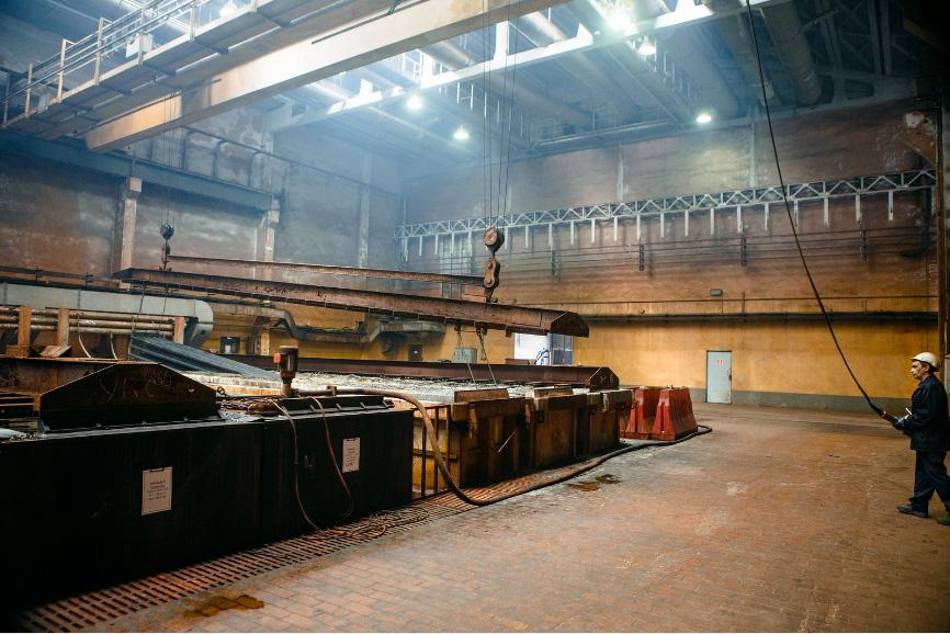 Фото завода цинкования для сайта Мостострой Инжиниринг