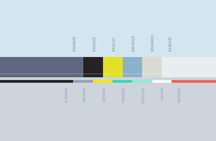 Цветовая гамма сайта Мостострой