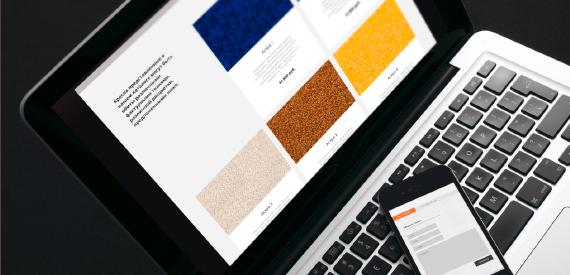 Дизайн сайта Ратко для планшета