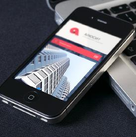 Дизайн страницы под iphone