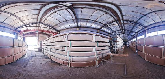 360 панорама склада