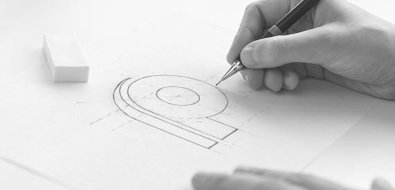 Разработка логотипа компании Рекорд